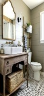 Captivating small farmhouse bathrooms decoration ideas (8)