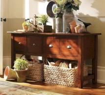 Catchy farmhouse rustic entryway decor ideas 04