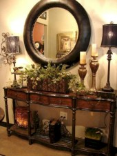 Catchy farmhouse rustic entryway decor ideas 05