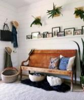 Catchy farmhouse rustic entryway decor ideas 07