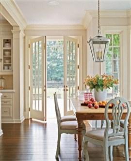 Classic shabby chic vintage kitchens design decor (19)