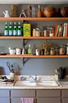 Classic shabby chic vintage kitchens design decor (21)
