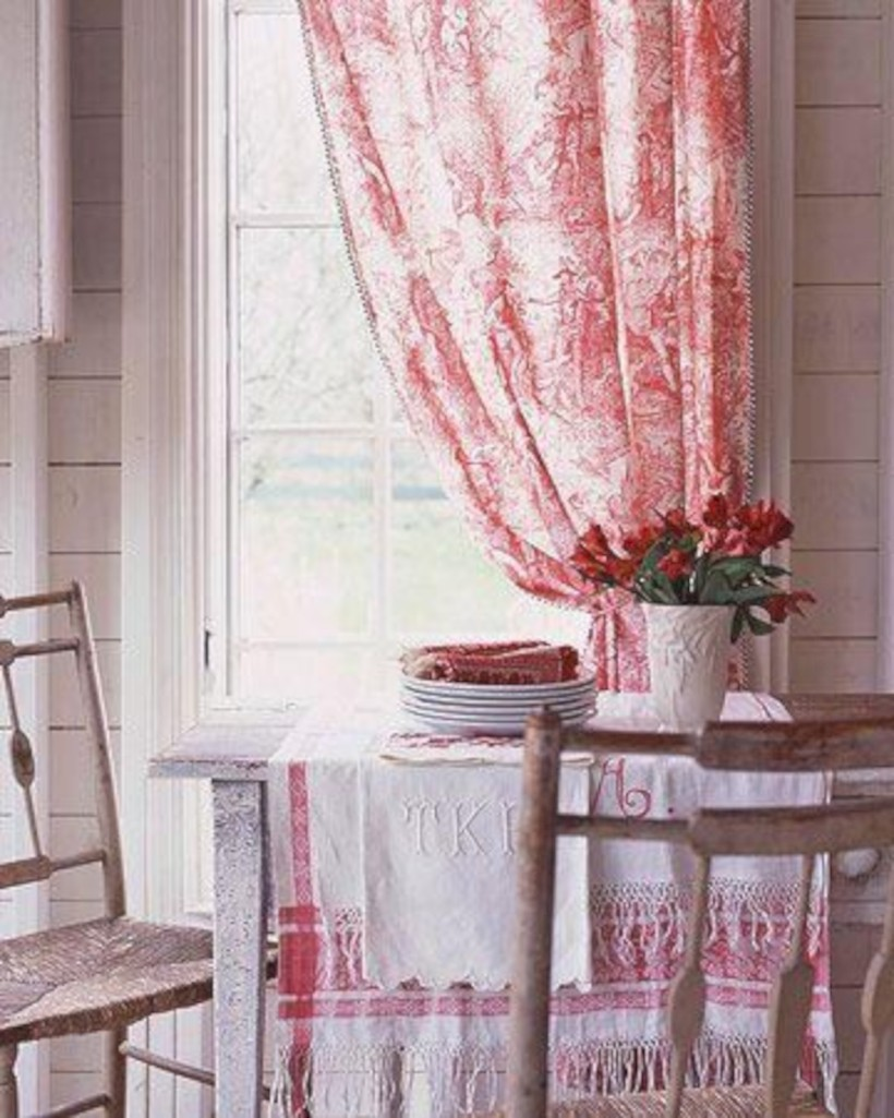 Classic shabby chic vintage kitchens design decor (32)