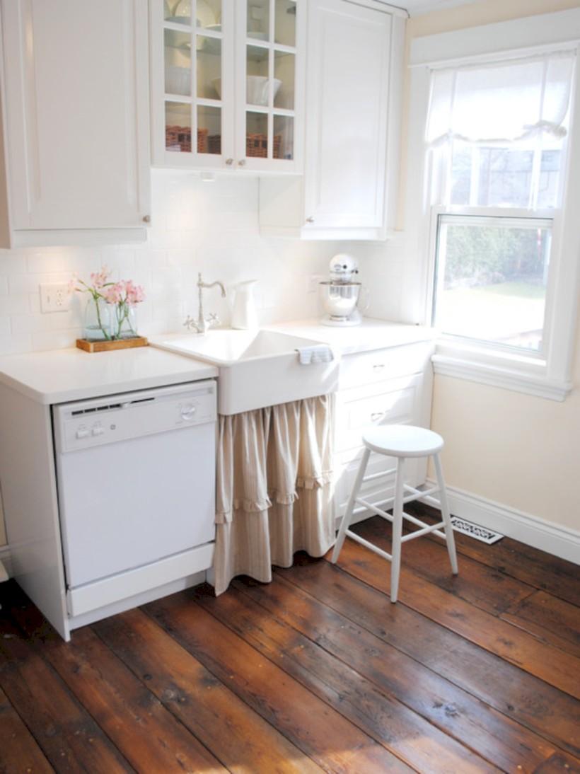 Classic shabby chic vintage kitchens design decor (39)