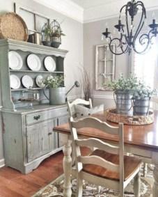 Classic shabby chic vintage kitchens design decor (42)