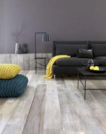 Comfy grey yellow bedrooms decorating ideas (42)