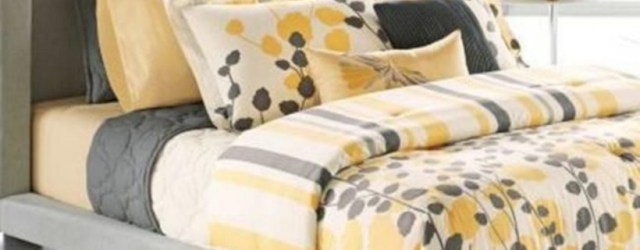 Comfy grey yellow bedrooms decorating ideas (46)