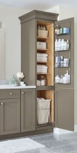 Cool bathroom storage shelves organization ideas 03
