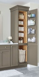 Cool bathroom storage shelves organization ideas 03
