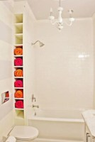 Cool bathroom storage shelves organization ideas 28