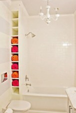 Cool bathroom storage shelves organization ideas 28
