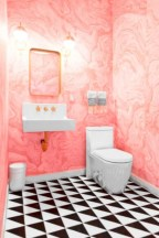 Cool modern geometric concept bathroom designs ideas (10)