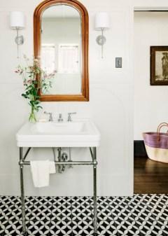 Cool modern geometric concept bathroom designs ideas (18)
