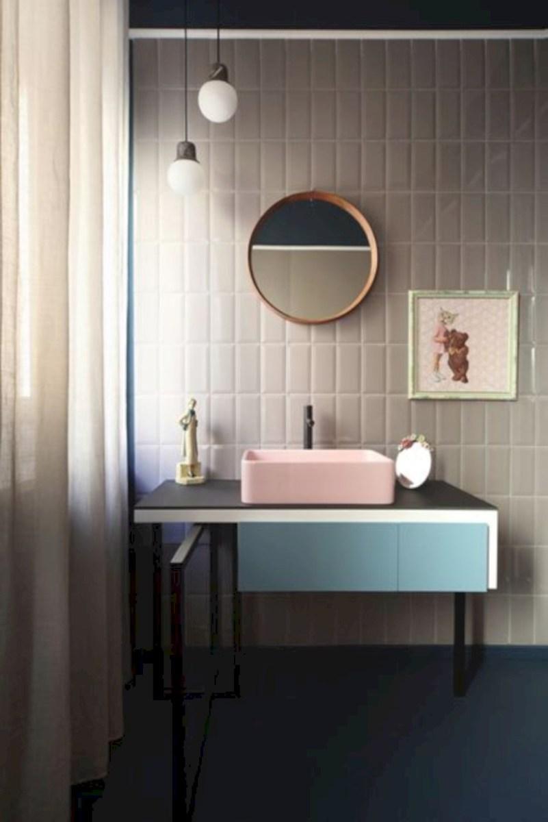 Cool modern geometric concept bathroom designs ideas (3)