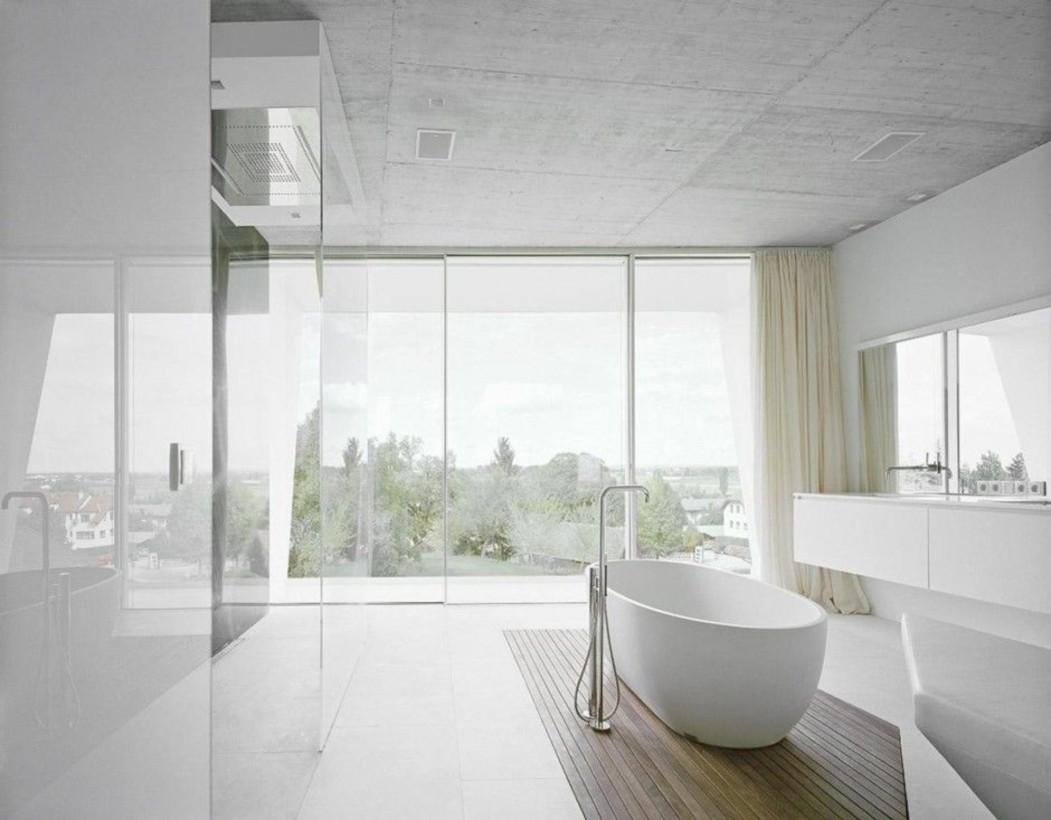 Cool modern geometric concept bathroom designs ideas (42)