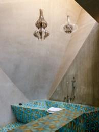 Cool modern geometric concept bathroom designs ideas (7)