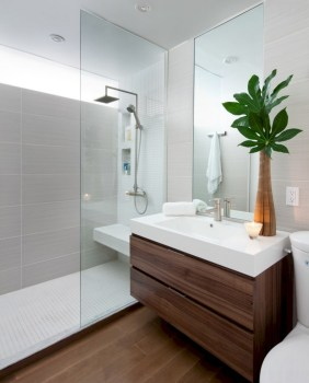 Cozy small scandinavian bathroom design ideas (32)