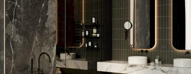 Cozy small scandinavian bathroom design ideas (35)