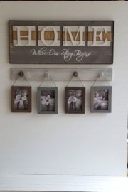 Creative diy rustic home decor ideas 23