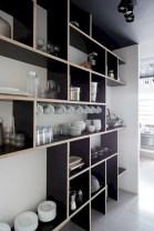 Creative kitchen open shelves ideas on a budget 08