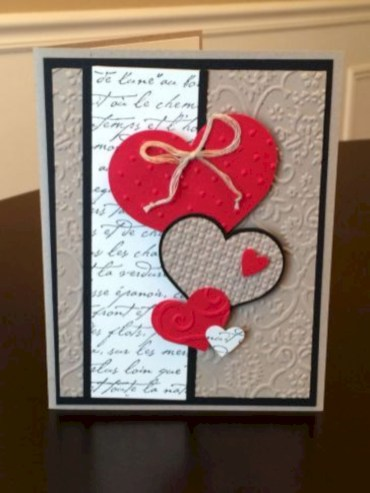 Creative valentine cards homemade ideas 18