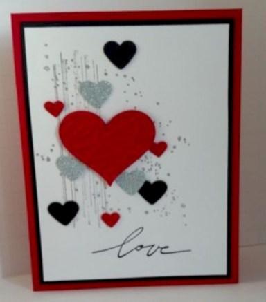 Creative valentine cards homemade ideas 29