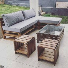 Easy and inexpensive diy pallet furniture inspirations ideas 36