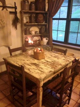 Fancy french country dining room table decor ideas 48