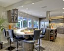 Fascinating kitchen islands ideas with seating and dining areas (12)