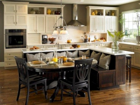 Fascinating kitchen islands ideas with seating and dining areas (3)