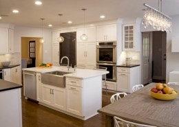 Fascinating kitchen islands ideas with seating and dining areas (30)