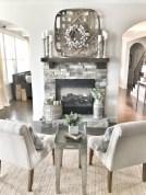 Gorgeous apartment fireplace decor ideas (17)