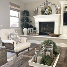 Gorgeous apartment fireplace decor ideas (21)