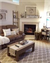 Gorgeous apartment fireplace decor ideas (3)