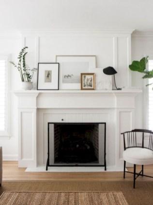 Gorgeous apartment fireplace decor ideas (42)
