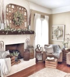 Gorgeous apartment fireplace decor ideas (6)