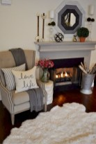Gorgeous apartment fireplace decor ideas (8)