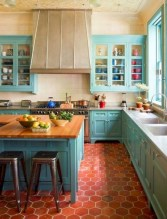Gorgeous kitchen floor tiles design ideas (32)
