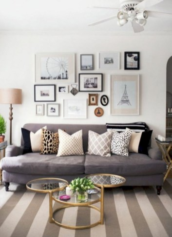 Inspiring grey studio apartment decor ideas on a budget (35)