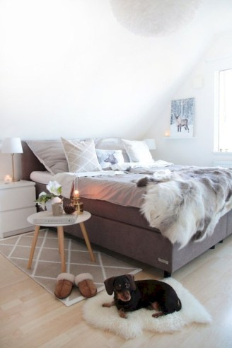 Inspiring grey studio apartment decor ideas on a budget (38)