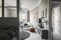 Inspiring grey studio apartment decor ideas on a budget (44)