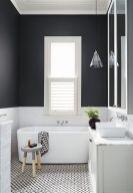 Luxury black and white bathroom design ideas 03