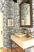 Luxury black and white bathroom design ideas 17