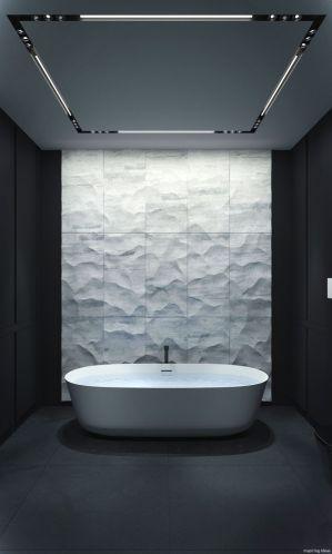 Luxury black and white bathroom design ideas 20