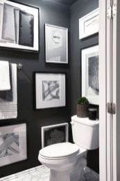 Luxury black and white bathroom design ideas 22