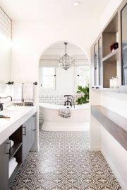 Luxury black and white bathroom design ideas 37