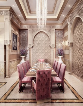 Luxury dining room design ideas you will love (39)