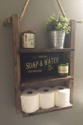 Modern farmhouse bathroom decor ideas (19)