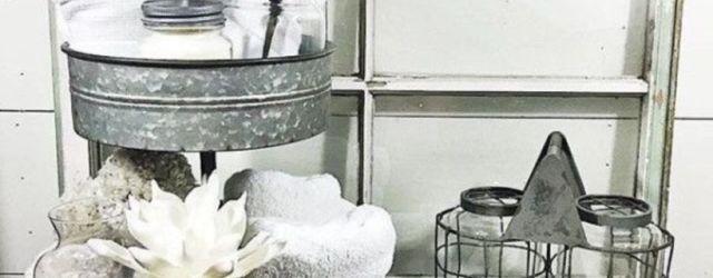 Modern farmhouse bathroom decor ideas (35)