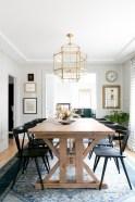 Modern farmhouse dining room decorating ideas (23)
